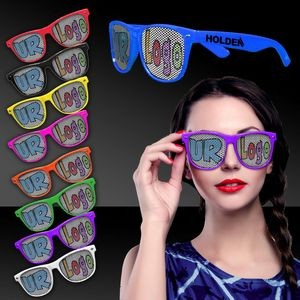Colorful Classic Retro Billboard Sunglasses
