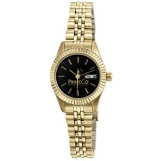 Selco Geneve Ladies Gold Mustang Watch